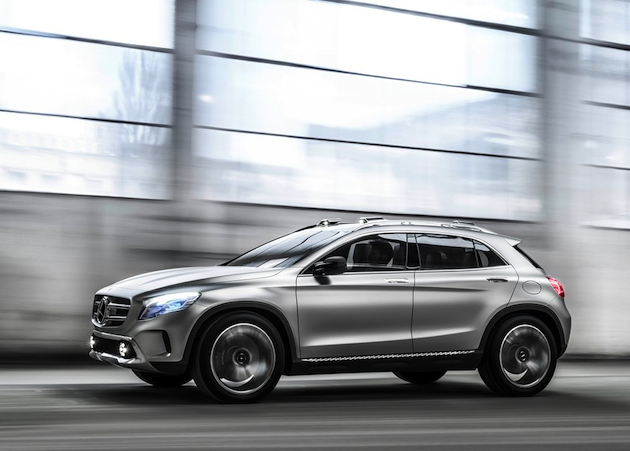 Watch | Mercedes Benz Offer A Closer Look at the Concept GLA