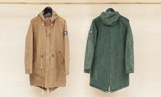 Norse Projects and Oi Polloi Oddbergur Parka