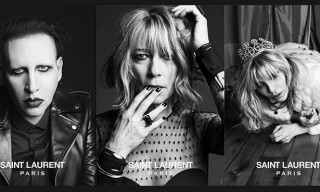 "Rockers for Saint Laurent ""Music Project"" Campaign"