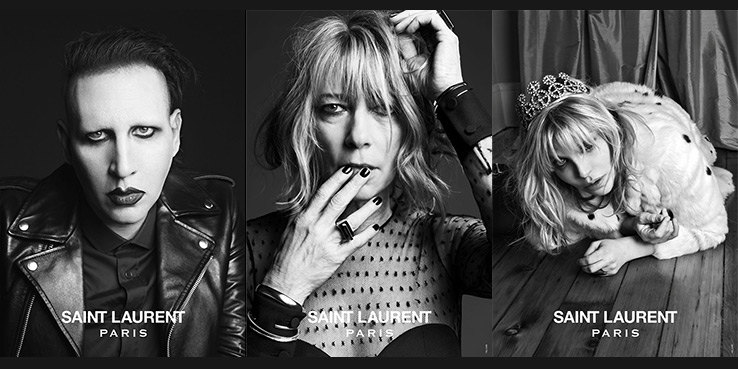 Rockers for Saint Laurent