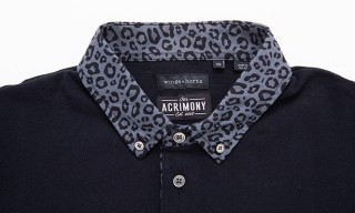 Wings + Horns Polo for Acrimony 5 Year Birthday