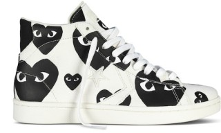A Look at the Latest Converse & Comme des Garçons PLAY Project