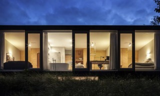 Heading to Bloemendaal, Holland – Villa V by Paul de Ruiter Architects
