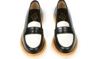 Two-tone Crepe Sole loafers from Adieu – Step Easy