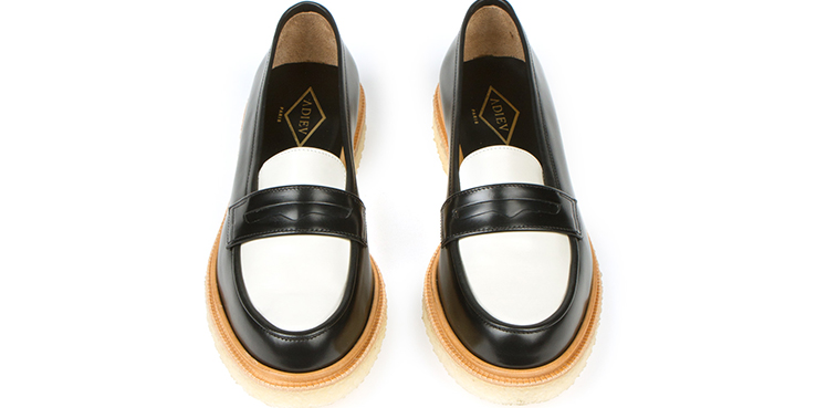 Two-tone Crepe Sole loafers from Adieu - Step Easy