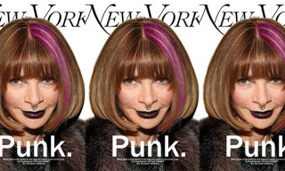Anna Wintour Goes Punk in this New York Magazine Alternative Cover