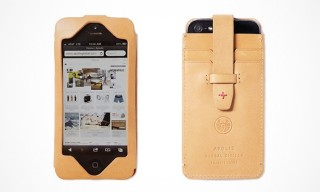 This Apolis iPhone 5 Natural Leather Case Keeps Your Cards Close