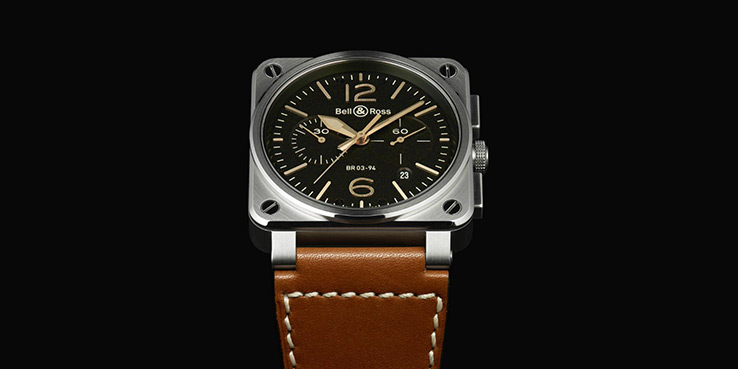Bell & Ross BR-03 Golden Heritage Watch Collection 1