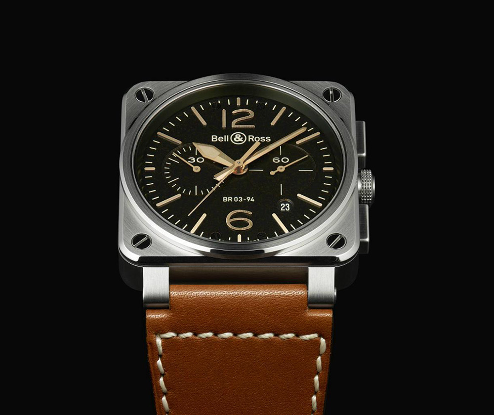 Bell & Ross BR-03 Golden Heritage Watch Collection 2