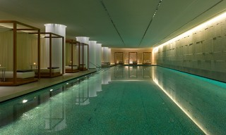 The Pool and Spa of the Bulgari Hotel in London – A Look Inside