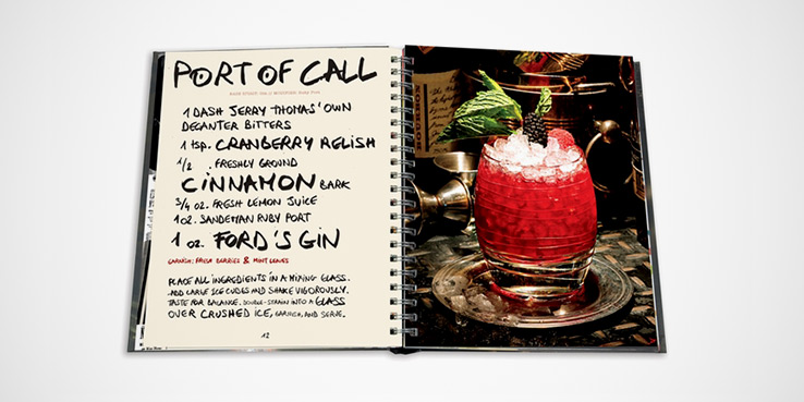 A Look Inside Assouline's Spiral-Bound Recipe Guide to Craft Cocktails 1