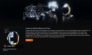 Hear the Entire New Daft Punk Album on iTunes Now for Free