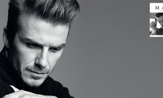 David Beckham Covers Man About Town Spring Summer 2013