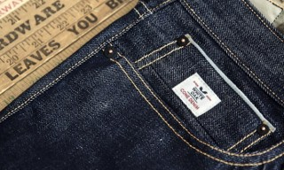 Denham Launch All-American Cone Mill White Oak Virgin Denim