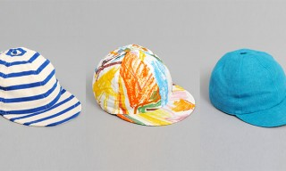 3 Colorful Hats For Summer from Études
