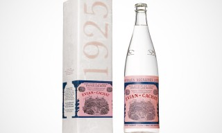 Evian Throwback Vintage Bottle from 1925