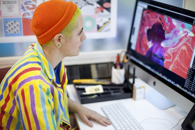 3 Minutes and 45 Seconds With London Art Director Kate Moross