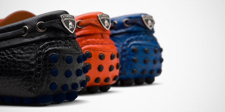 Lamborghini Celebrates 50 Years with 3 Special Car Shoe Mocassins 1