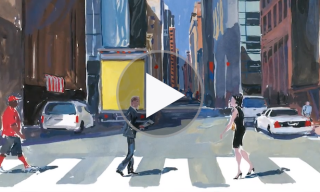 Watch | The Louis Vuitton Travel Book – Jean Philippe Delhomme Illustrates New York City