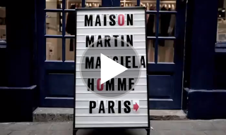 A Race Around Paris With Maison Martin Margiela – Check out the New Look Montpensier Store