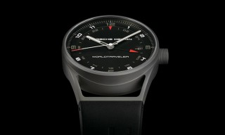 Porsche Design's New Titanium WorldTraveler Watch