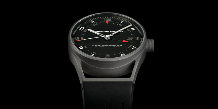 Porsche Design's New Titanium WorldTraveler Watch 1