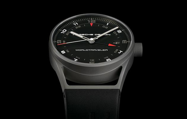 Porsche Design's New Titanium WorldTraveler Watch 2
