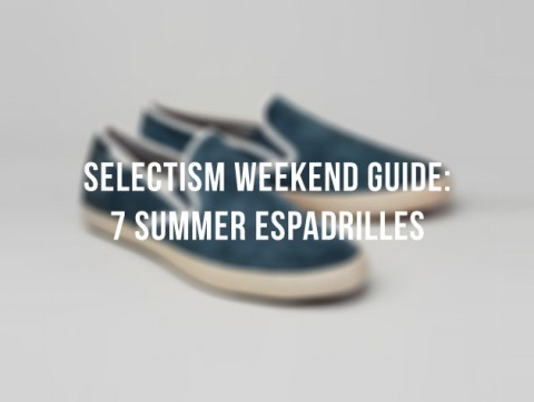 A Weekend Guide: 7 Espadrilles For A Better Summer 1