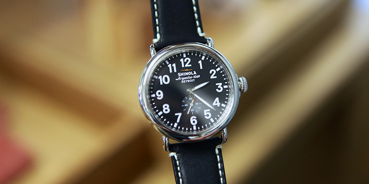 Shinola Watches are Made in Detroit, Michigan 1