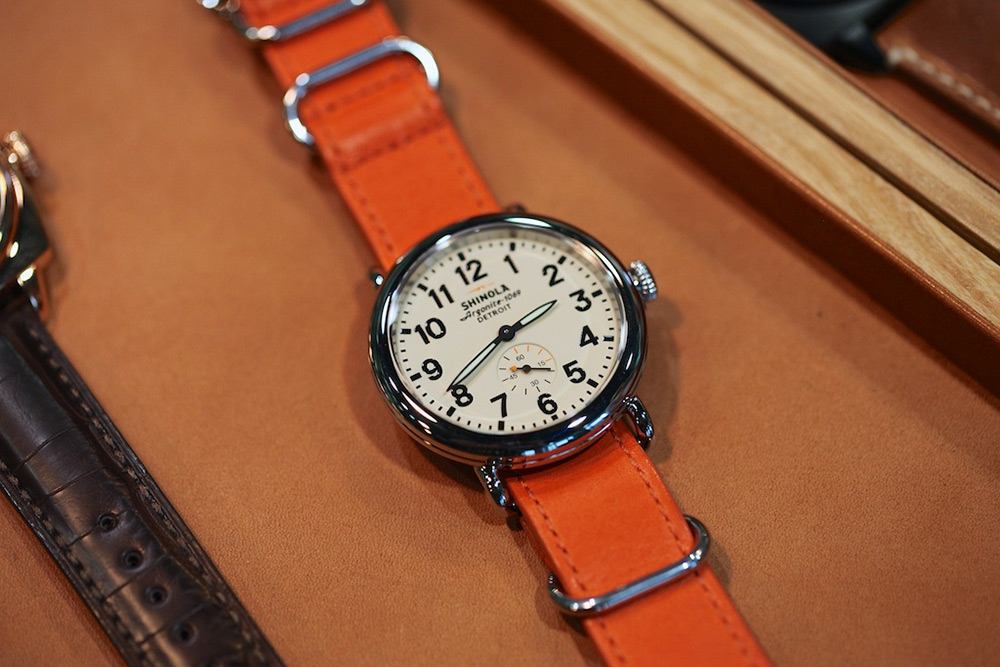 Shinola Watches are Made in Detroit, Michigan 2