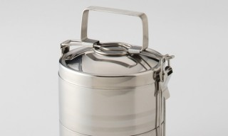 A Two-Layered Tiffin Tin – Not Your Average 'Portable Lunch System'