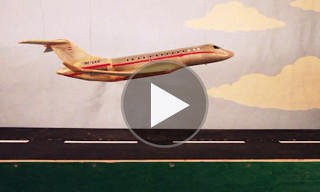 Watch this Tom Sachs Stop-Motion Safety Video for VistaJet
