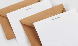 Tumi and Terrapin Stationers Offer These Simple Travel Notecards