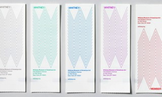 Design Agency Experimental Jetset Create New Identity for Whitney Museum NYC