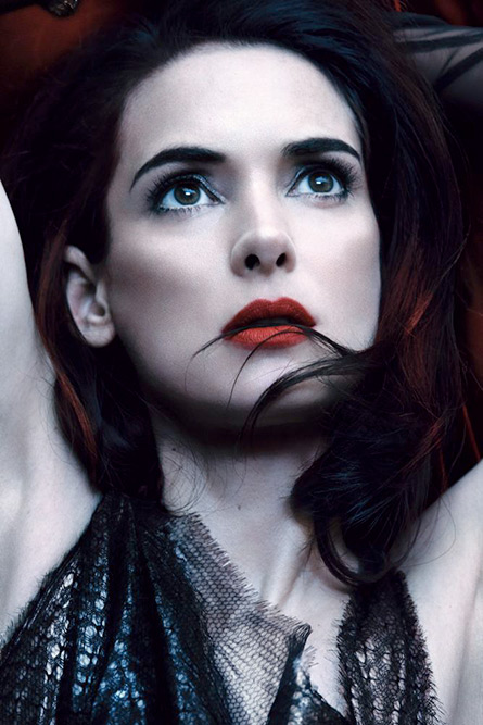 Winona Ryder's Beautiful New Editorial in Interview May 2013 by Craig McDean