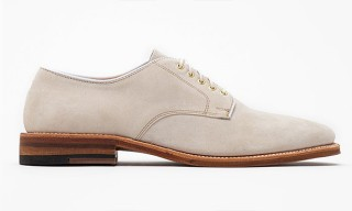 Alden Milkshake Suede Blucher Shoes
