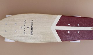 Atypical for President's Limited Edition Skateboard to Launch at Pitti Uomo 84