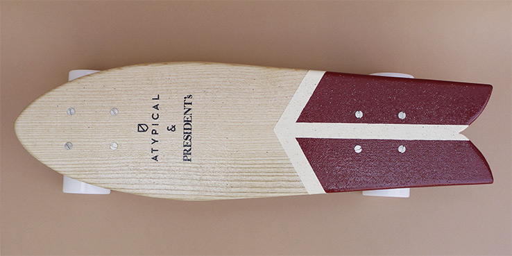 Atypical x President's Limited Edition Skateboard