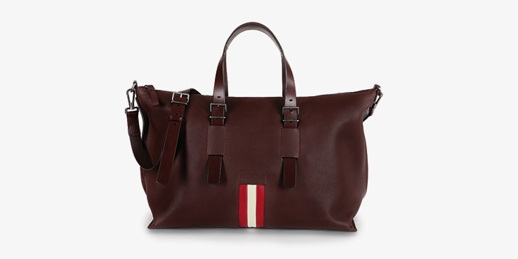 Bally's New Striped Weekender Spring Summer 2014