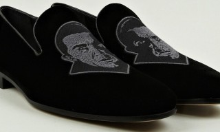Christopher Kane Gets Bitey With These Velvet Dracula Slippers