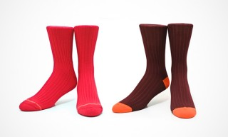 Etiquette Clothiers for Freemans Sporting Club Socks