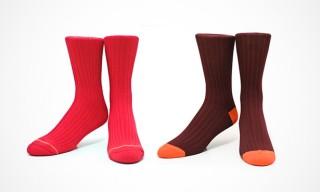 Etiquette Clothiers for Freemans Sporting Club Socks