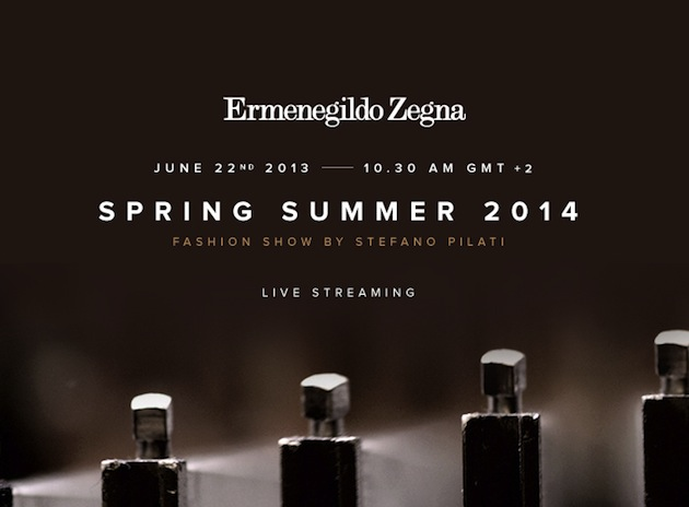 Watch Ermenegildo Zegna Spring Summer 2014 Runway Show