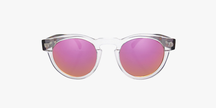 Pink Mirrored Lens Sunglasses from Illesteva 1