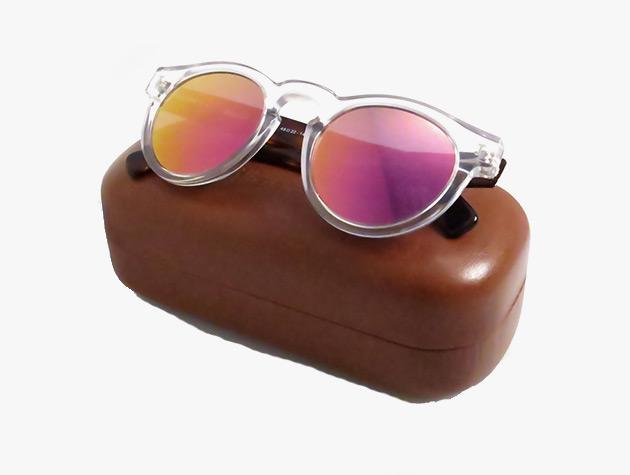 Pink Mirrored Lens Sunglasses from Illesteva 2