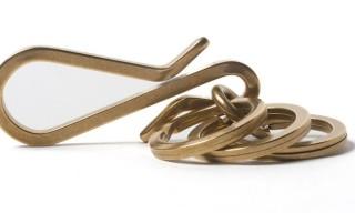Iron Heart Triple-Ring Keyhook – Simple