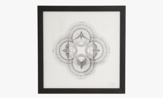 Limited Edition Candle and Art Print by Joya and Oliver Ruuger