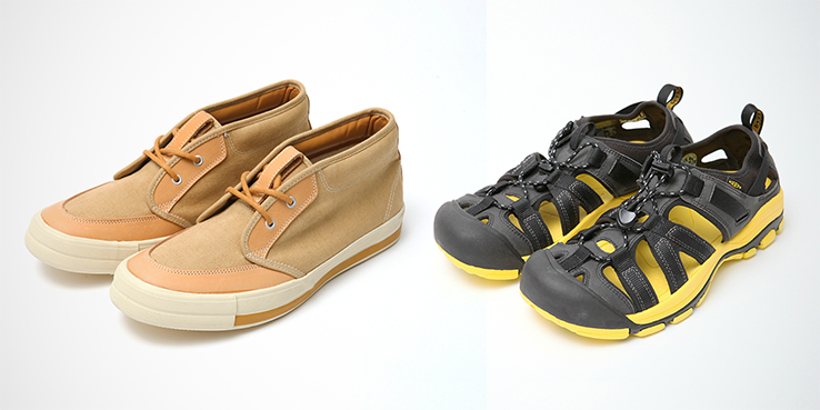 Oshman's, Keen and RFW Yellow Sandal and Sneaker Pack