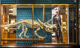 Dinosaurs Invade Louis Vuitton in New York City