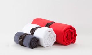 Outlier Grid Linen Towels